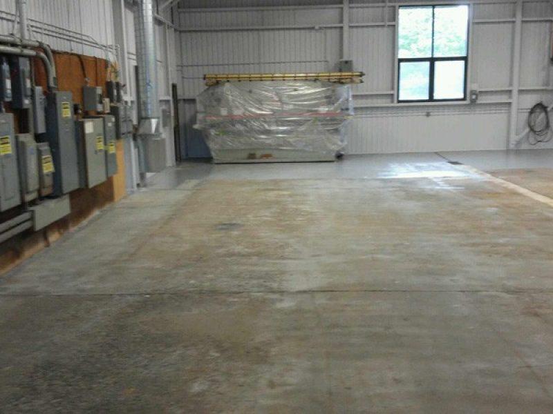 Préparation de plancher de béton sur la Rive-Sud