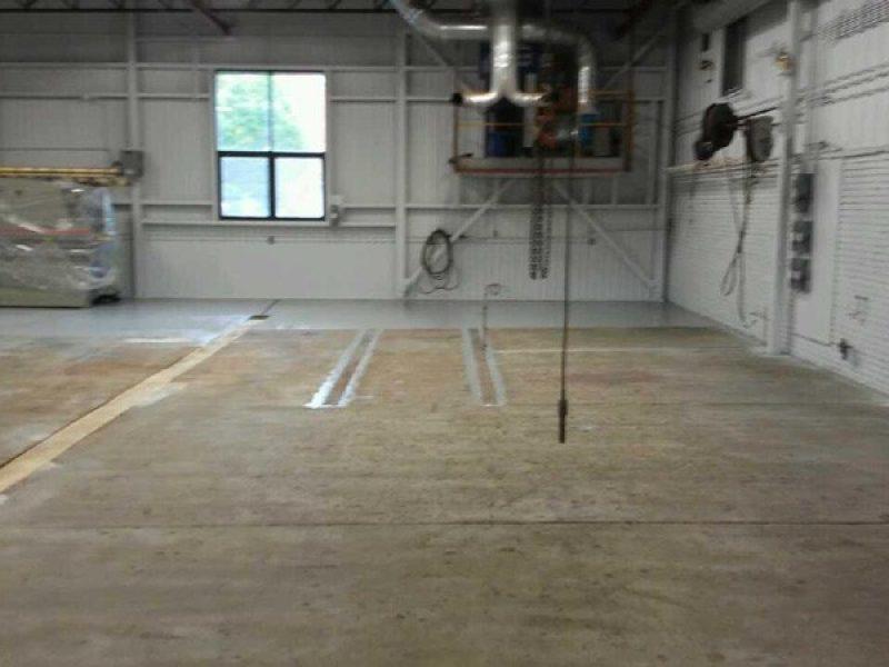 Réparation de plancher de béton en Montérégie