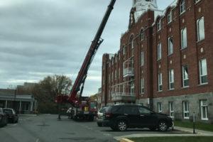 Nettoyage et restauration de clocher