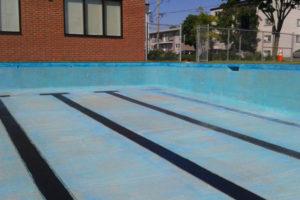 Peinture de piscine en Montérégie